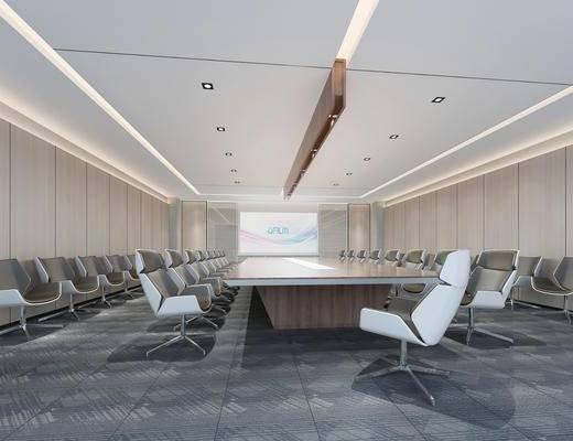 會議室, 現代會議室, 桌椅組合