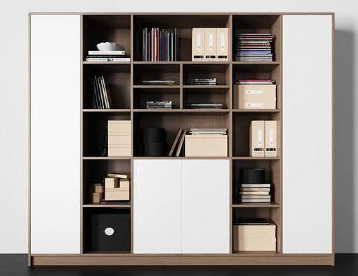 文件夹, 杂志, 书籍, 箱子