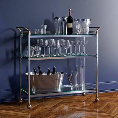 酒水冰桶, 现代酒水架, 酒水架