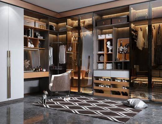 衣柜, 服飾, 裝飾品, 梳妝臺, 椅子