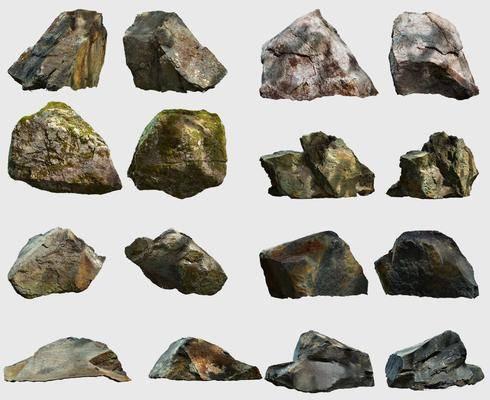 石头, 景观石