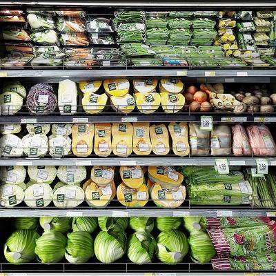 蔬菜, 货架, 柜架组合
