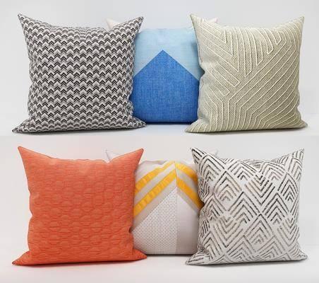 沙发抱枕, 布艺抱枕, 现代