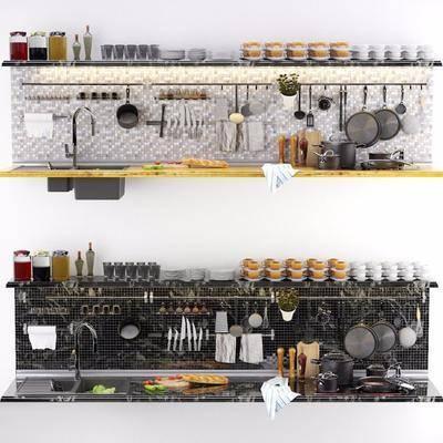 厨具, 厨房用具, 调料瓶