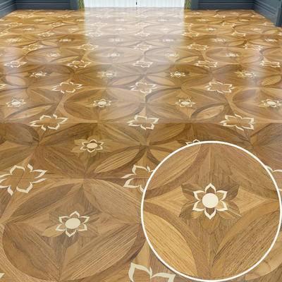地板, 木拼花