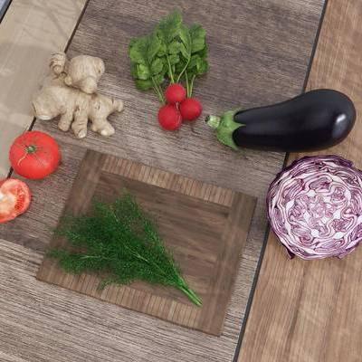 蔬菜, 食物, 瓜果, 西红柿, 茄子