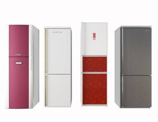 冰箱, 冰柜, 现代