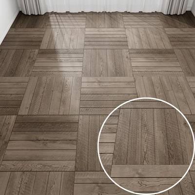 地板, 木板