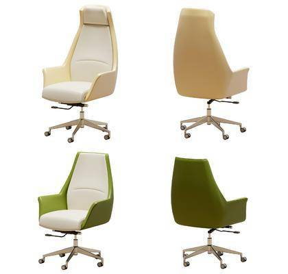 现代办公椅, 员工椅, 单人椅