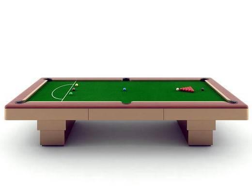 现代台球桌