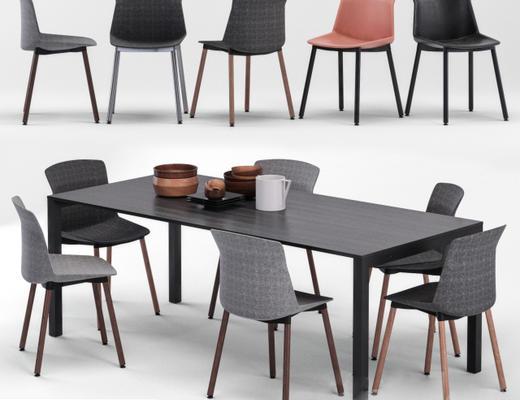现代简约, 桌椅组合