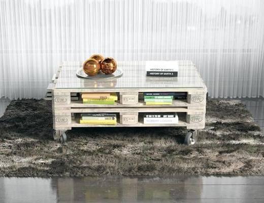 毛绒地毯, 方形地毯, 桌子, 书籍, 现代