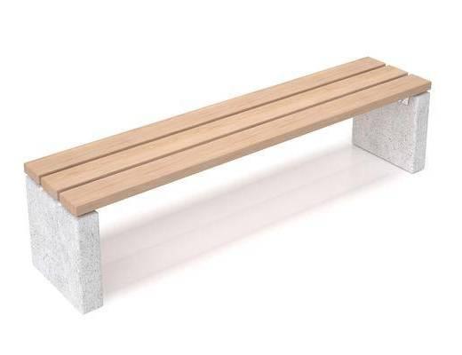 现代凳子, 长凳, 户外长凳