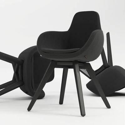 餐椅, 单人椅