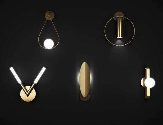 创意壁灯, 灯具