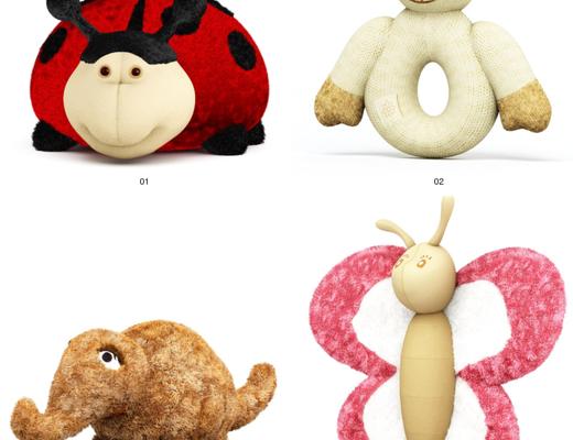 玩具, 玩偶, 公仔, Evermotion, Archmodels, EV