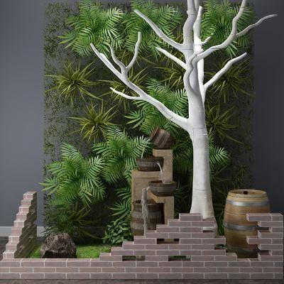 景观小品, 植物, 树木