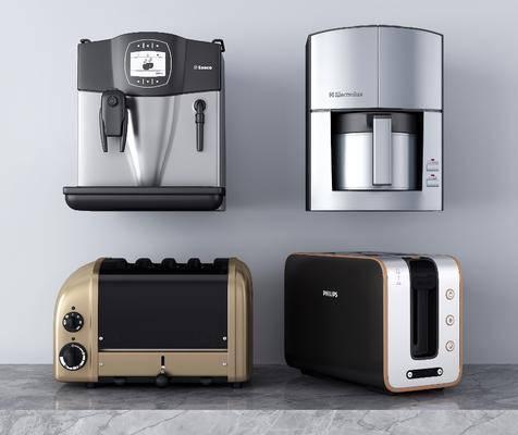 咖啡机, 电器, 消毒机