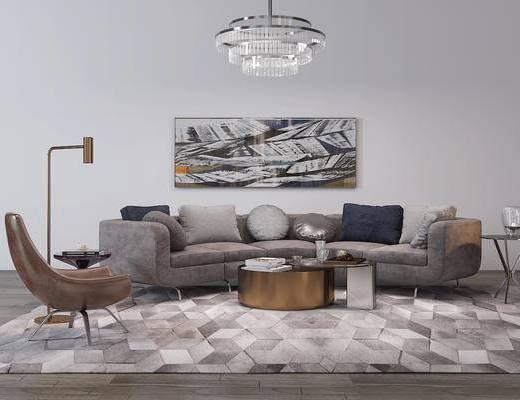 沙发, 现代沙发, 沙发组合, 沙发茶几组合, 北欧沙发, 椅子, 现代