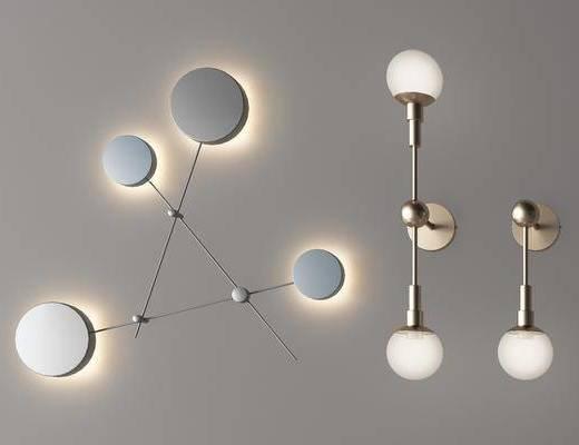 创意壁灯, 艺术壁灯, 现代