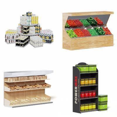 現代貨柜, 貨柜, 貨架, 超市貨架