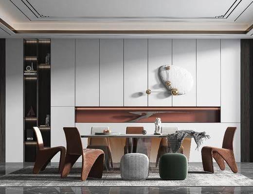 家装, 现代轻奢风格餐厅