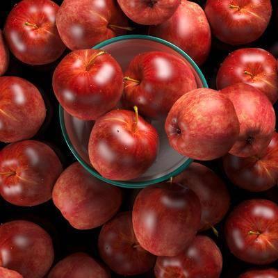 碗, 盆, 水果, 苹果, 现代