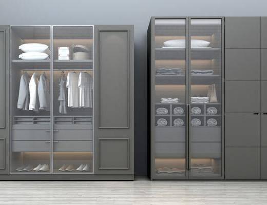 衣柜, 整体衣柜, 衣柜组合, 玻璃衣柜, 木质衣柜, 衣柜移门, 服饰, 现代简约