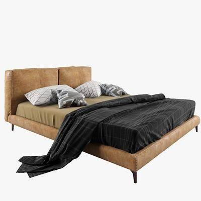 雙人床, 現代