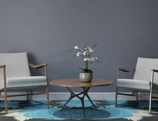 休闲椅, 单椅, 现代休闲椅
