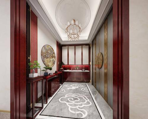 走廊, 玄关, 门厅, 端景台