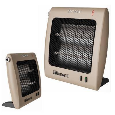 电暖炉, 暖气扇
