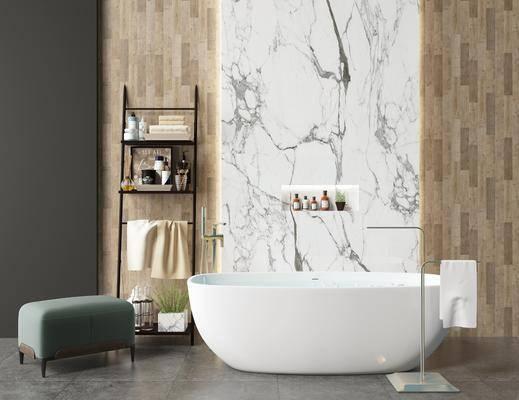 卫浴, 洗浴组合, 浴缸