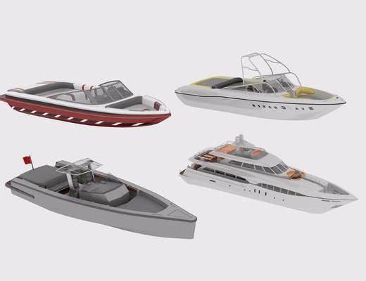 游艇, 船, 现代游艇, 现代