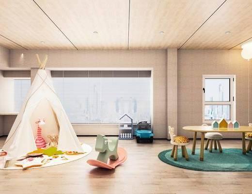 桌椅组合, 吊灯, 帐篷, 玩具