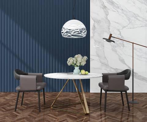 桌椅, 边几, 摆件, 灯具