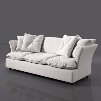 多人沙发, 现代多人沙发, 现代, 布艺, 双十一