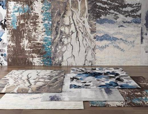 現代, 地毯