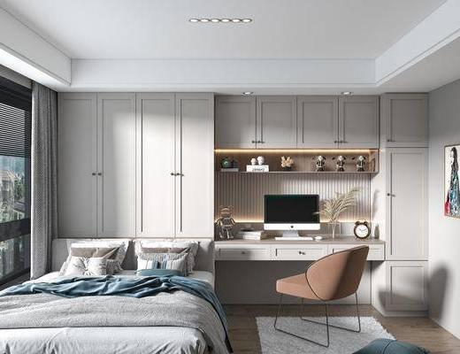 家装, 现代卧室