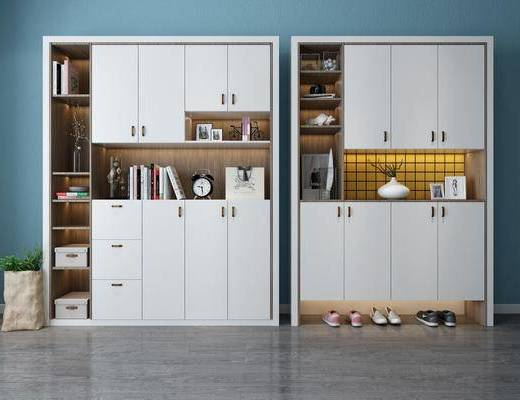 北歐鞋柜, 鞋柜, 置物柜