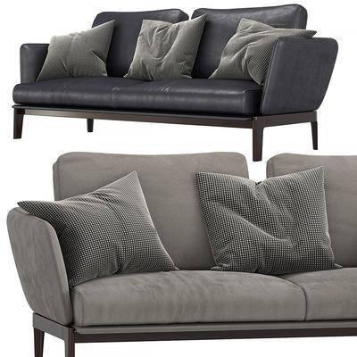 双人沙发, 沙发组合, 抱枕