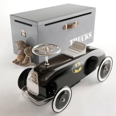 儿童玩具, 玩具车, 公仔, 收纳箱, 现代, 玩具, 箱子