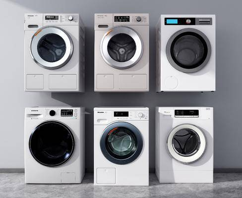 洗衣机, 滚筒