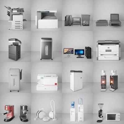 复印机, 打印机, 扫描仪, 碎纸机, 咖啡机, 电器