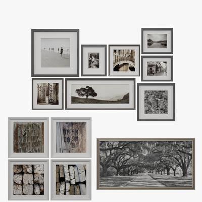 挂画, 风景画, 相框, 现代