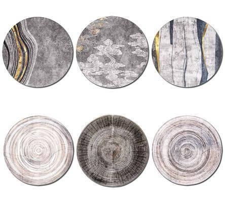 新中式, 地毯, 单体
