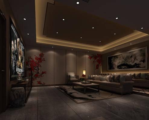 新中式影音室, 电影房