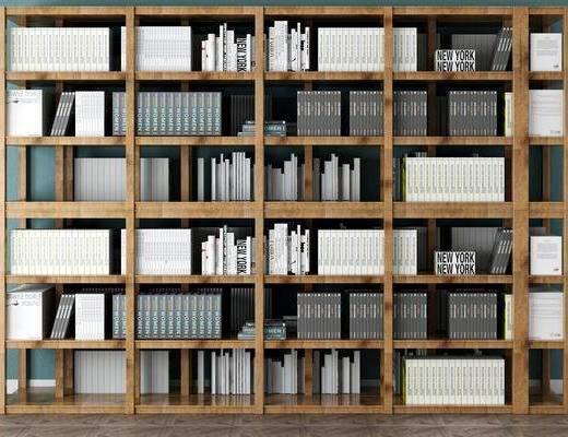 柜架组合, 书架, 置物柜