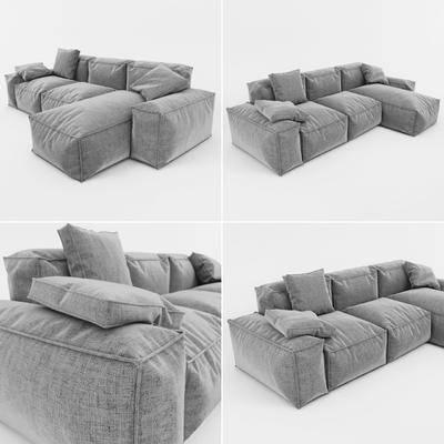 多人沙发, 转角沙发, 现代沙发, 布艺沙发, 北欧沙发