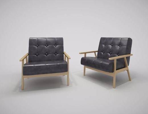单人沙发, 北欧